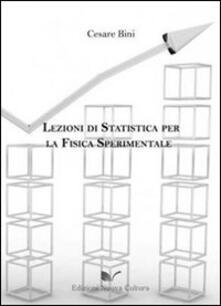 Equilibrifestival.it Lezioni di statistica per la fisica sperimentale Image