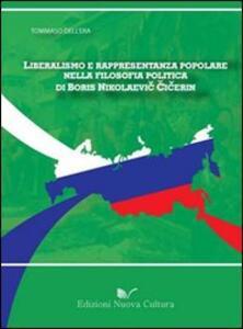 Liberalismo e rappresentanza popolare nella filosofia politica di Boris Nikolaevic Cicerin