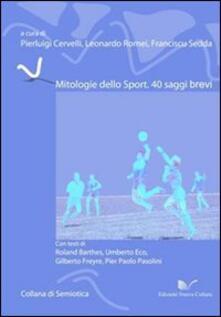 Mitologie dello sport - copertina