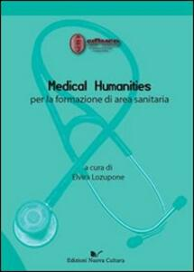 Medical humanities per la formazione di area sanitaria