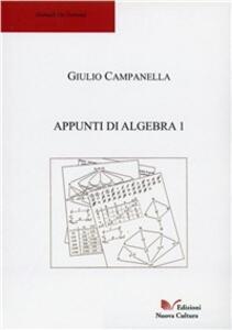 Appunti di algebra 1. Teoria