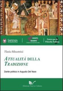 Attualità della tradizione. Dante politico in Augusto Del Noce