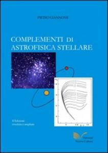 Complementi di astrofisica stellare