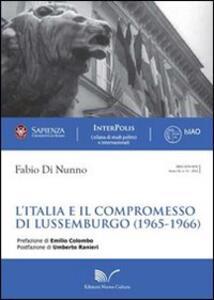 L' Italia e il compromesso di Lussemburgo (1965-1966)