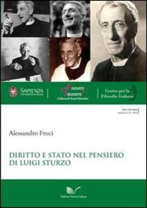 Diritto e Stato nel pensiero di Luigi Sturzo