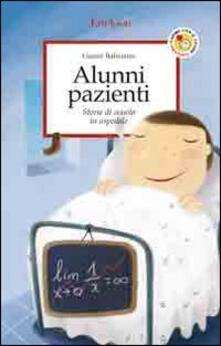 Premioquesti.it Alunni pazienti. Storie di scuola in ospedale Image