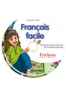 Ristorantezintonio.it Français facile. Attività per l'apprendimento del francese essenziale. CD-ROM Image