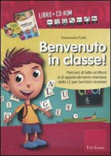 Vitalitart.it Benvenuto in classe! Kit. Con CD-ROM Image