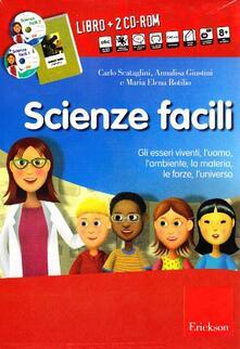 Ristorantezintonio.it Scienze facili. Kit. Con 2 CD-ROM Image