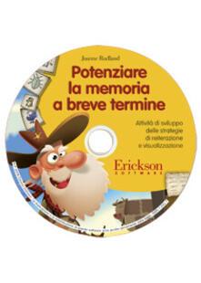 Promoartpalermo.it Potenziare la memoria a breve termine. Attività di sviluppo delle strategie di reiterazione e visualizzazione. CD-ROM Image