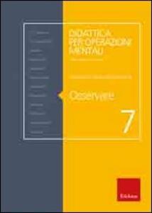 Osservare - Loredana Czerwinsky Domenis - copertina
