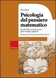 Mercatinidinataletorino.it Psicologia del pensiero matematico. Il ruolo della comunicazione nello sviluppo cognitivo Image