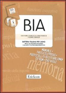 Daddyswing.es BIA. Batteria italiana per l'ADHID per la valutazione dei bambini con deficit di attenzione-iperattività. Con CD-ROM. Con DVD Image