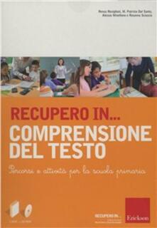 Voluntariadobaleares2014.es Recupero in... Comprensione del testo. CD-ROM. Con libro Image