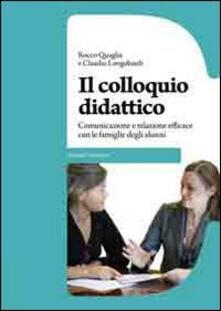 Osteriacasadimare.it Il colloquio didattico. Comunicazione e relazione efficace con le famiglie degli alunni Image