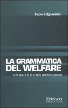 Voluntariadobaleares2014.es Grammatica del welfare. Al di quà e al di là dello sportello sociale Image