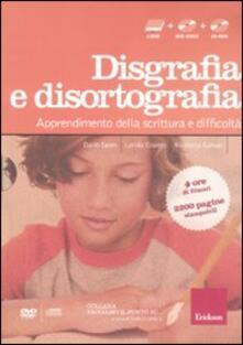 Listadelpopolo.it Facciamo il punto su... disgrafia e disortografia. Apprendimento della scrittura e difficoltà. Con DVD. Con CD-ROM Image