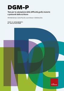 DGM-P. Test per la valutazione delle difficoltà grafo-motorie e posturali della scrittura