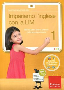 Camfeed.it Impariamo l'inglese con la LIM 1. Attività per il primo biennio della Scuola primaria. Con CD-ROM. Vol. 1 Image