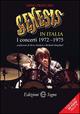 Genesis in Italia. I