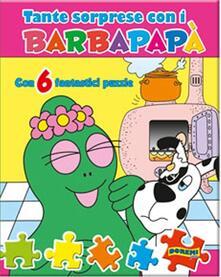 Secchiarapita.it Che sorprese con i Barbapapà. Libro puzzle. Ediz. illustrata Image