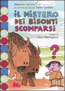 Fondazionesergioperlamusica.it Il mistero dei bisonti scomparsi. Ediz. illustrata Image