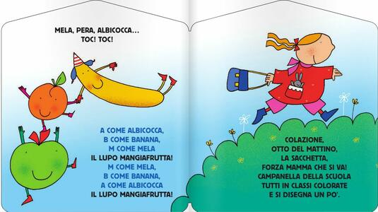 Il lupo mangiafrutta. Con CD Audio - Laura Marcora,Nicoletta Costa - 2