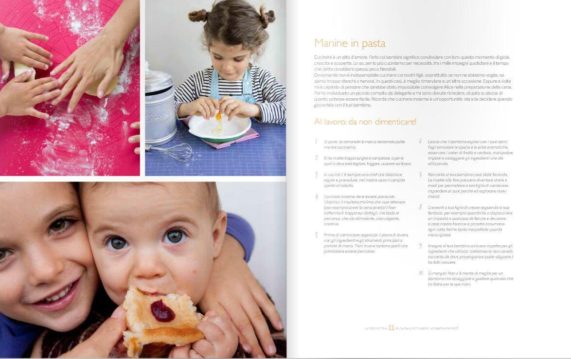 La forchettina cucinare con i bambini per tutta la famiglia miralda colombo libro - Cucinare coi bambini ...