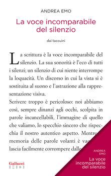 La voce incomparabile del silenzio - Andrea Emo,M. Donà,R. Toffolo - ebook