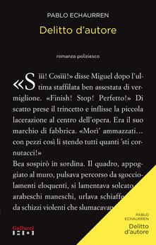 Delitto d'autore - Pablo Echaurren - ebook