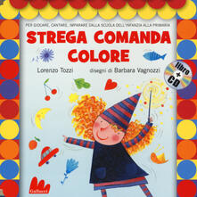 Voluntariadobaleares2014.es Strega comanda colore. Con CD Audio Image
