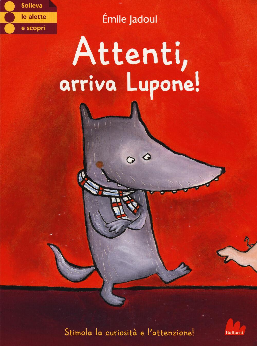 Attenti, arriva Lupone!