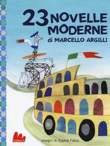 Promoartpalermo.it 23 novelle moderne. Ediz. illustrata Image