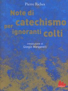Winniearcher.com Note di catechismo per ignoranti colti Image