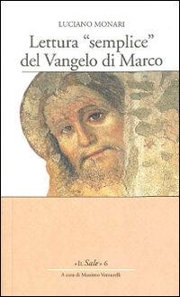 Lettura «semplice» del Vangelo di Marco