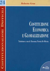 Costituzione economica e globalizzazione