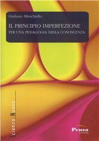 Il principio imperfezione per una pedagogia della conoscenza