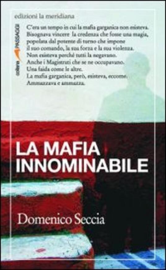 La mafia innominabile - Domenico Seccia - copertina