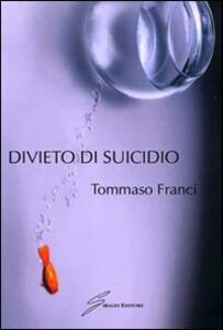 Divieto di suicido - Tommaso Franci - copertina