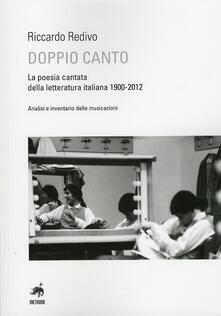 Vitalitart.it Doppio canto. La poesia cantata della letteratura italiana 1900-2012 Image