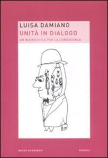 Antondemarirreguera.es Unità in dialogo. Un nuovo stile per la conoscenza Image