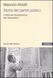 Premioquesti.it Storia dei partiti politici. L'Italia dal Risorgimento alla Repubblica Image