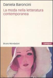 La moda nella letteratura contemporanea