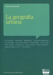La geografia urbana