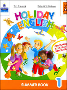 Daddyswing.es Holiday English. Summer Book. Con CD Audio. Per la 1ª classe elementare Image