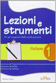 Nicocaradonna.it Lezioni e strumenti. Italiano. Per la 1ª classe elementare Image