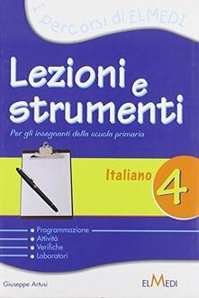 Winniearcher.com Lezioni e strumenti. Italiano. Per la 4ª classe elementare Image