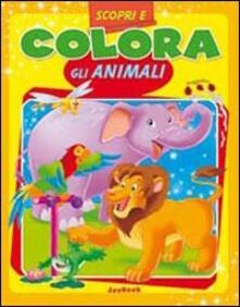 Premioquesti.it Scopri e colora gli animali. Ediz. illustrata Image
