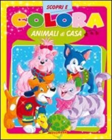 Aboutschuster.de Colora animali di casa. Ediz. illustrata Image