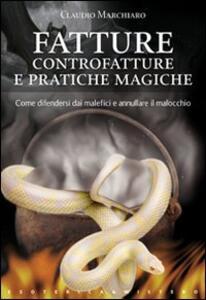 Fatture, controfatture e pratiche magiche